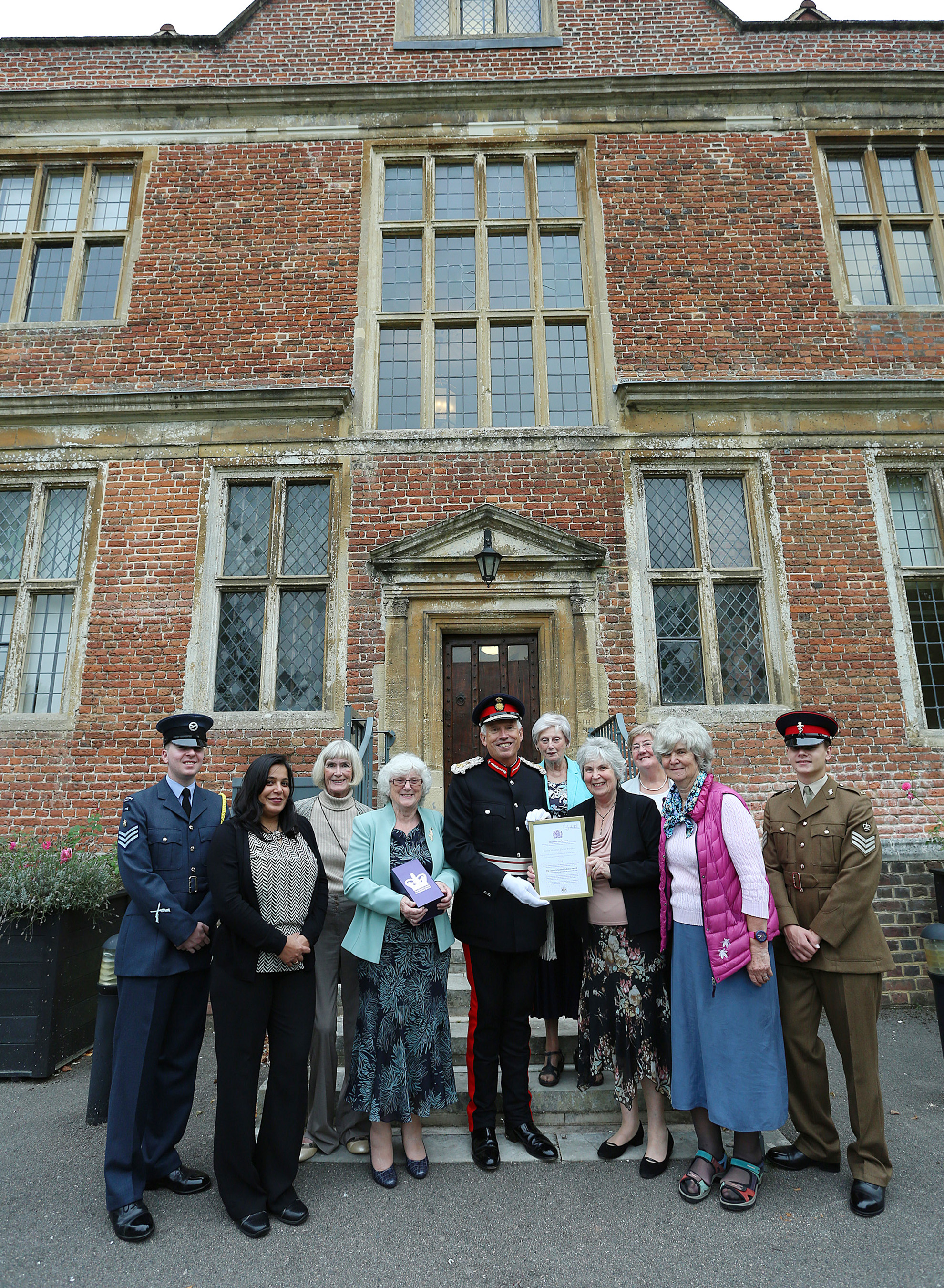 Queen's Award for Voluntary Service - 2016